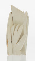 Fine Art - Sculpture, American:Contemporary (1950 to present), Louise Nevelson (1899-1988). Tree of Life, 1975. Paintedwood. 6-1/2 x 3 x 2-1/4 inches (16.5 x 7.6 x 5.7 cm). Edition o...