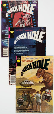 Black Hole #1-4 Complete Series Group (Whitman, 1980) Condition: Average FN/VF.... (Total: 4 Comic Books)
