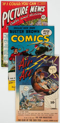 Golden Age (1938-1955):Miscellaneous, Golden Age Miscellaneous Comics Group of 14 (Various Publishers, 1940s) Condition: Average VG.... (Total: 14 Comic Books)