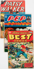 Golden Age (1938-1955):Miscellaneous, Golden Age Miscellaneous Comics Group (Various Publishers, 1940s) Condition: Average PR.... (Total: 21 Comic Books)