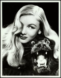 """Movie Posters:Miscellaneous, Veronica Lake by A.L. """"Whitey"""" Schafer (Paramount, 1943). Portrait Photo (10.25"""" X 13"""").. ..."""
