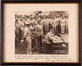 Autographs:Military Figures, Japanese Surrender in Tokyo Bay: Chester Nimitz Signed Photograph....