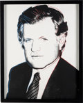 Political:Posters & Broadsides (1896-present), Edward Kennedy: Signed and Numbered Andy Warhol Silkscreen Artwork....