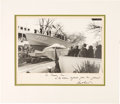 Autographs:U.S. Presidents, John F. Kennedy: Large Photo of PT-109 Inaugural Float Personally Inscribed to Crew Member Barney Ross....