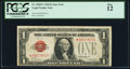 Small Size:Legal Tender Notes, Fr. 1500* $1 1928 Legal Tender Note. PCGS Fine 12.. ...