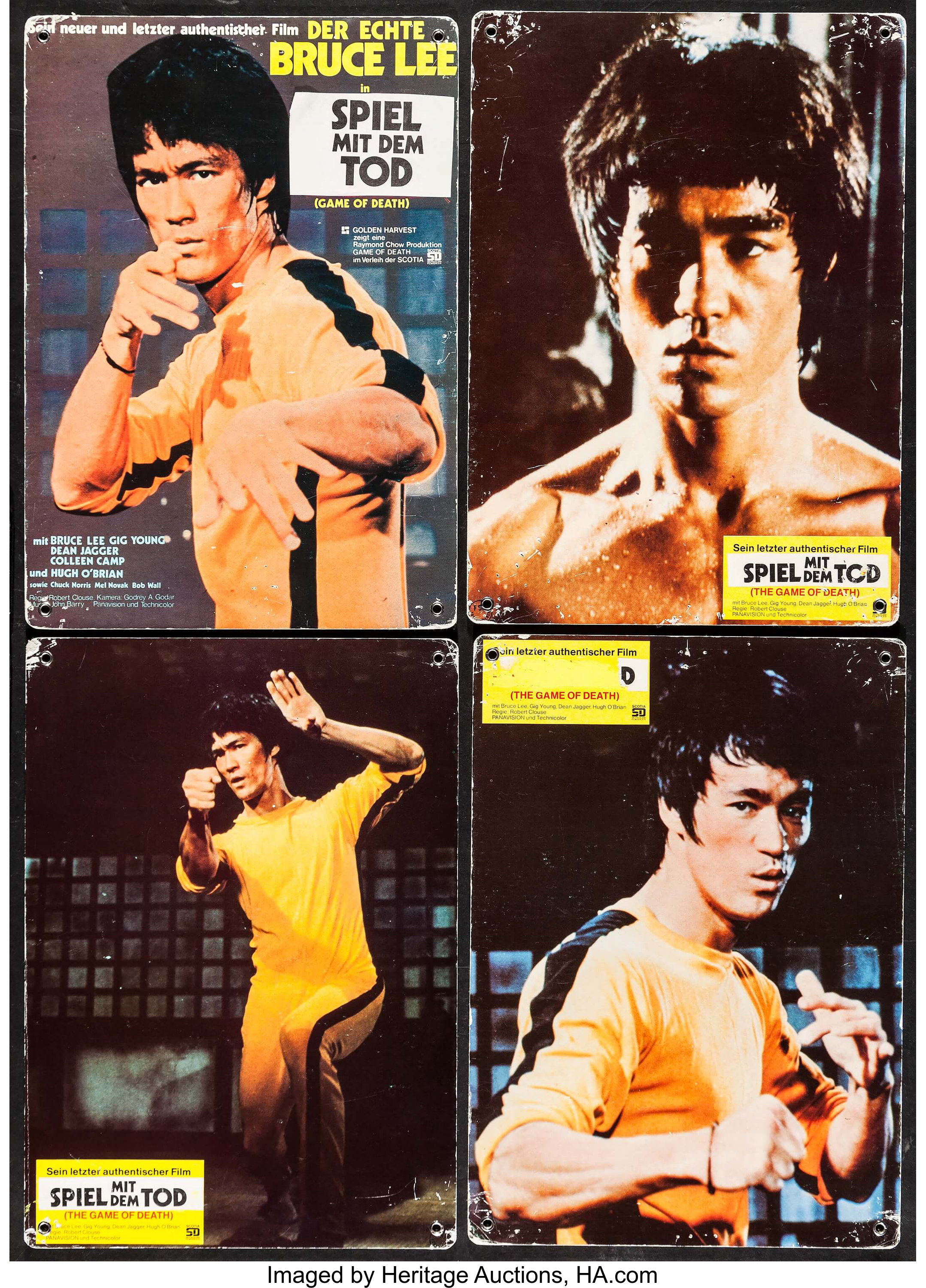 Game of Death (Scotia Deutschland Filmverleih, 1978)  Swiss Lobby