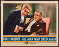 "Movie Posters:Horror, The Man Who Lived Again (Gaumont, 1936). Lobby Card (11"" X 14""). Horror.. ..."