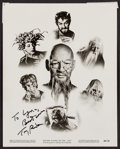 """Movie Posters:Fantasy, The 7 Faces of Dr. Lao (MGM, 1964). Autographed Photo (8"""" X 10""""). Fantasy.. ..."""