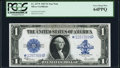 Large Size:Silver Certificates, Fr. 237* $1 1923 Silver Certificate PCGS Very Choice New 64PPQ.....