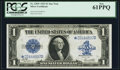 Large Size:Silver Certificates, Fr. 238* $1 1923 Silver Certificate PCGS New 61PPQ.. ...