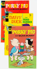 Bronze Age (1970-1979):Miscellaneous, Porky Pig/Daffy Duck Bronze Age Group of 67 (Whitman, 1970s)Condition: Average VG-.... (Total: 67 Comic Books)