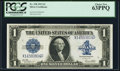 Large Size:Silver Certificates, Fr. 238 $1 1923 Silver Certificate PCGS Choice New 63PPQ.. ...
