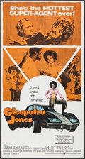 "Movie Posters:Blaxploitation, Cleopatra Jones (Warner Brothers, 1973). Folded, Very Fine-. International Three Sheet (41""X 71""). Blaxploitation.. ..."