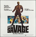 "Movie Posters:Adventure, Doc Savage: The Man of Bronze (Warner Brothers, 1975). Folded, VeryFine. International Six Sheet (77"" X 78"") Roger K..."