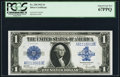 Large Size:Silver Certificates, Fr. 238 $1 1923 Silver Certificate PCGS Superb Gem New 67PPQ.. ...