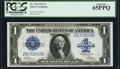 Large Size:Silver Certificates, Fr. 239 $1 1923 Silver Certificate PCGS Gem New 65PPQ.. ...
