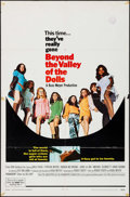 "Movie Posters:Sexploitation, Beyond the Valley of the Dolls (20th Century Fox, 1970).International One Sheet (27"" X 41""). Sexploitation.. ..."