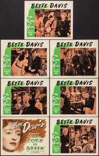 "The Corn Is Green (Warner Brothers, 1945). Title Lobby Card & Lobby Cards (6) (11"" X 14""). Drama. ... (Tot..."