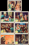 "Movie Posters:Academy Award Winners, Hamlet (Universal International, 1949). Title Lobby Card &Lobby Cards (6) (11"" X 14""). Academy Award Winners.. ... (Total: 7Items)"