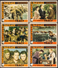 """Movie Posters:Action, Northwest Passage (MGM, 1940). Lobby Cards (6) (11"""" X 14""""). Action.. ... (Total: 6 Items)"""