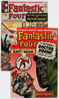 Silver Age (1956-1969):Superhero, Fantastic Four #16 and 17 Group (Marvel, 1963).... (Total: 2 Comic Books)