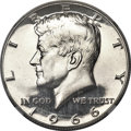 SMS Kennedy Half Dollars, 1966 50C SMS MS69 Cameo NGC....