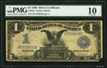 Large Size:Silver Certificates, Fr. 233 $1 1899 Silver Certificate PMG Very Good 10.. ...