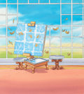 Animation Art:Painted cel background, Picture Purrfect! Baby's First Disney Book PaintedBackground Illustrations Group of 6 (Walt Disney, 2004).... (Total:6 Original Art)