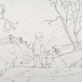 Animation Art:Concept Art, Winnie the Pooh Album Cover Preliminary Art Group of 3 (WaltDisney, 2000).... (Total: 3 Items)