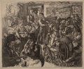 Fine Art - Work on Paper:Print, John French Sloan (1871-1951). Hell Hole, 1917. Etching andaquatint on laid paper, 2nd state of 2. 8 x 10 inches (20.3 ...