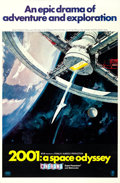 "Movie Posters:Science Fiction, 2001: A Space Odyssey (MGM, 1968). Cinerama One Sheet (27"" X 41"")Style A, Robert McCall Artwork.. ..."