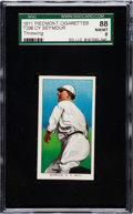 Baseball Cards:Singles (Pre-1930), 1909-11 T206 Piedmont Cy Seymour (Throwing) SGC 88 NM/MT 8....