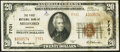National Bank Notes, Medford, OR - $20 1929 Ty. 2 The First NB Ch. # 7701. ...