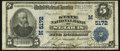 National Bank Notes, Saint Louis, MO - $5 1902 Plain Back Fr. 606 The State NB Ch. #(M)5172. ...