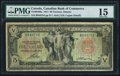Canadian Currency, Toronto, ON- Canadian Bank of Commerce $5 Jan. 2, 1917 Ch.#075-16-04-06a.. ...