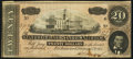 Confederate Notes, T67 $20 1964 PF-45 Cr. UNL.. ...