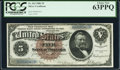 Large Size, Fr. 263 $5 1886 Silver Certificate PCGS Choice New 63PPQ.. ...