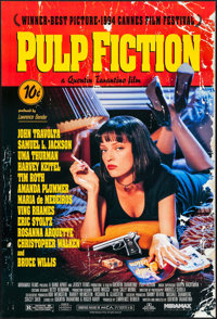 "Pulp Fiction (Miramax, 1994). One Sheet (27"" X 40"") SS. Crime"
