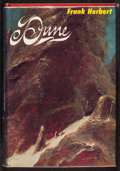 "Movie Posters:Science Fiction, Dune by Frank Herbert (Chilton, 1970). Autographed Hardcover 3rdEdition Book (412 Pages, 6.25"" X 9.25""). Science Fiction.. ..."