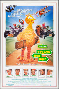 """Follow that Bird & Others Lot (Warner Brothers, 1985). One Sheets (3) (27"""" X 40"""", 41"""") Steve Chorney..."""