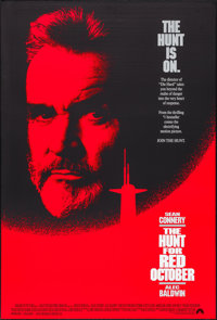 """The Hunt for Red October & Others Lot (Paramount, 1990). One Sheets (3) (27"""" X 40"""") DS. Thriller..."""