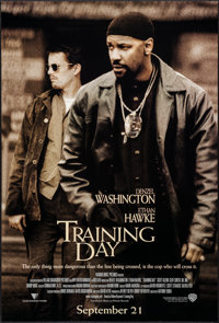 """Training Day & Others Lot (Warner Brothers, 2001). One Sheets (3) (26.75"""" x 39.75"""" & 27""""..."""