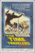 "Movie Posters:Science Fiction, The Time Travelers (American International, 1964). Autographed OneSheet (27"" X 41"") Reynold Brown. Science Fiction.. ..."