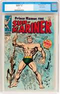 Silver Age (1956-1969):Superhero, The Sub-Mariner #1 Western Penn Pedigree (Marvel, 1968) CGC NM/MT9.8 White pages....