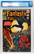 Silver Age (1956-1969):Superhero, Fantastic Four #52 (Marvel, 1966) CGC NM- 9.2 White pages....