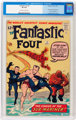 Fantastic Four #4 (Marvel, 1962) CGC VF 8.0 Off-white to white pages