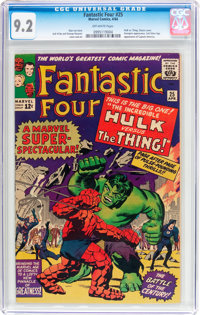 Fantastic Four #25 (Marvel, 1964) CGC NM- 9.2 Off-white pages