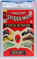 Silver Age (1956-1969):Superhero, The Amazing Spider-Man #31 (Marvel, 1965) CGC NM+ 9.6 Whitepages....