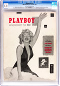 Magazines:Miscellaneous, Playboy #1 (HMH Publishing, 1953) CGC VG/FN 5.0 Off-white to whitepages....