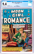 Golden Age (1938-1955):Romance, A Moon, A Girl...Romance #11 (EC, 1950) CGC NM 9.4 Off-white to white pages....